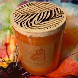 DW Home Mango Handcrafted 3.8 oz Scented Candle